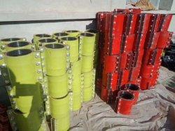 Suministro de piezas de repuesto de la fábrica de la bomba de hormigón de acoplamiento para la entrega de tubos de acero recta