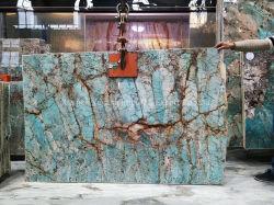 Losas de mármol azul//suelos de baldosa/Fondo/Panel de pared de azulejos/cocina/Workbench/Comedor/restaurante Mesa/la decoración del hogar