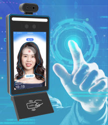 Temperatursensorausrüstung für den menschlichen Körper mit Gesichtserkennung