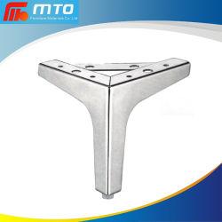 Metal fuerte contemporáneo sofá constante de la Pierna de herrajes para muebles mesa de té de la Pierna de Hardware