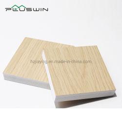 17мм мебель ламинированные ПВХ пенопластовый лист дерева мраморным зерна