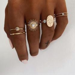 غلّة كرم مفصل بلّوريّة حلول لأنّ نساء متّبع آخر صيحة إصبع البوهيمي [إينس] نجم قمر حلول يثبت يتزوّج إلتزام مجوهرات