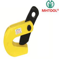 1ton Grúa de elevación horizontal Abrazadera para elevación y transporte de placas de acero