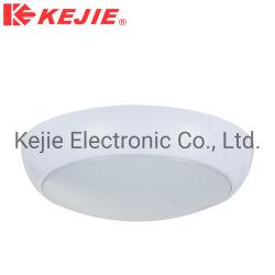 IP65 Kejie ronde plafond d'urgence de la lumière avec capteur hyperfréquence