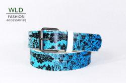 Modo de Impressão de leopardo PU Correia (KY3599)