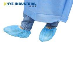 PP Non-Woven desechables Cubrezapatos Non-Slip Non-Skid / Zapato saludable Cove de Hospital hechas a mano