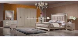 Quarto moderno mobiliário de madeira maciça de MDF Económica Homesdongguan Base guarda-roupa de mesa do Lado de Alta Qualidade Penteadeira Factory