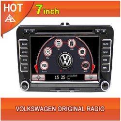 Touchscreen van de auto DVD Radio van VW van Bluetooth van de Navigatie de Originele