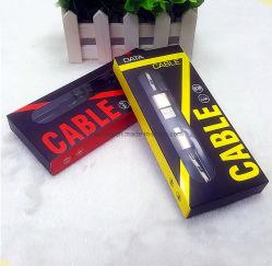 Câble USB Câble de données USB de l'emballage de l'emballage PET Boîtes en plastique PVC avec fenêtre