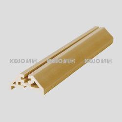 Le WPC matériaux décoratifs en bois composite en plastique (GBS en perles de verre-2118A et B)