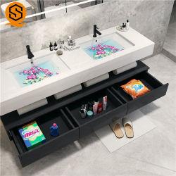 Туалетный столик в ванной комнате Гуанчжоу устанавливает Кабинет с мраморным туалетным столиком верхней части