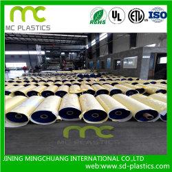PVC прозрачный/ясный/опаковый пленка для заволакивания, упаковывая, вкладыш PVC, предохранение, обруч