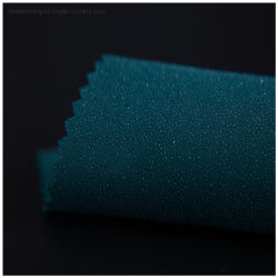 30d50dhohe Qualität 100% Polyester Gewebe Fusible Stoff Farbe Interlining