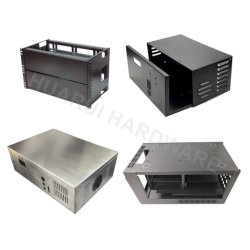 고품질 정밀 CNC 레이저 절단 서비스 맞춤형 제품 알루미늄 인클로저 박스 벤딩 스탬핑 판금 컴퓨터 부품
