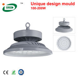 Boîtier industriel Lentille haute SMD Lumen métal IP65 66 watt linéaire UFO LED High Bay lumière