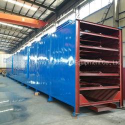 Trasportatore essiccatoio per legno di carbone essiccatoio
