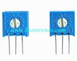 バリスターの電位差計、トリマーの電位差計、回転式電位差計- WI3386