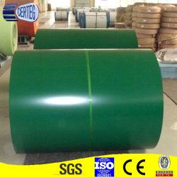 خطوط معدنية مطلية باللون الأخضر G90 0.50 مم