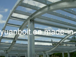 강철 프레임 건물 프로젝트 V-006(핫-DIP 갤바니도금)