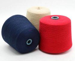 Venda a quente de tricotar Tecelagem de fio de cont nuo 100% poliéster 16S/2 21S/2 32S/2