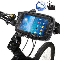 Fahrrad Handy Halterung Halter Wasserdichte Handy Tasche für Fahrrad Universal Fit von 4,5 bis 6,5 Zoll Esg13277