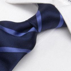 تصميم جديد للرجال بوصة S حرير/ربطة عنق من البوليستر منسوجة عالية الجودة 100% (1209-20)