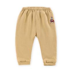 Jaune doux chaleureux pantalon pour bébé fille