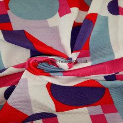 Tessuto di lavoro a maglia/tessuto di stirata stampato reattivo/tessuto di bambù di bambù del panno della fibra/della fibra