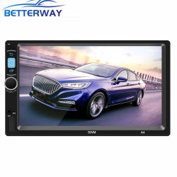 "2 DIN Android Market 8.1 Carro leitor MP5 Ecrã táctil de 7"" 1GB, 16GB Multimedia player de vídeo estéreo Bluetooth, leitor de MP5"