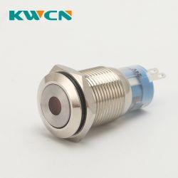 8mm 10mm 12mm 16mm 19mm 22mm 25mm 28mm 30mm acendimento momentâneo de Trava do interruptor do botão de pressão à prova de Botões