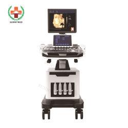 [س-028د-1] حامل متحرّك طبّيّ قلبيّة قباليّة لون دوبلر [4د] ما فوق الصّوت آلة