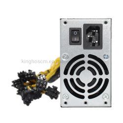 محول محول الطاقة محول التيار المتردد المستمر لمحول سلسلة منع تشغيل الماكينة تحويل الطاقة إمداد وحدة التزويد بالطاقة (PSU) الخاصة بـ Antminer