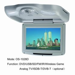 10.2 Inch Roof DVD with USB/SD (MP5) (OS-1028D)