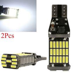 Высокая мощность авто лампы белого DC 12V автомобильный реверсивного хода назад лампы T15 W16W 45 SMD 4014 лампа сигнала поворота LED ШИНЫ CAN