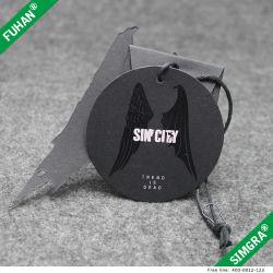 La mode et le logo d'aile de luxe Imprimer étiquette de papier