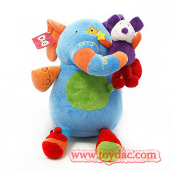 Brinquedos para bebés de pelúcia brinquedo Elefante