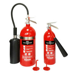 5lbs 10lbs 15lbs 20lbsのアルミ合金アメリカ様式の二酸化炭素の消火器