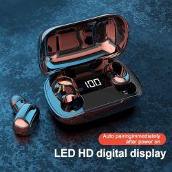 pantalla digital LED HD auriculares auriculares inalámbricos Bluetooth Deporte Ruido