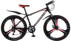 Haute teneur en carbone Acier aluminium 24 26pouces de vélo de montagne adulte