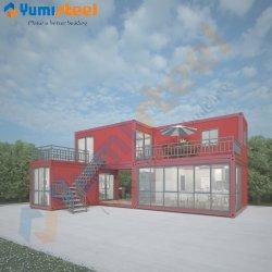 Rápido moderno ensamblados en paquete plano Casa contenedor plegable para vivir/oficina/Dormitorio/hoteles