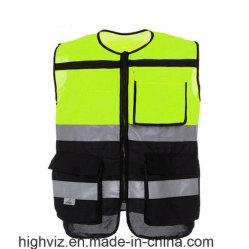 Het Cirkelen van de veiligheid Vest met Norm ANSI107