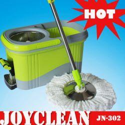 Benna di plastica di Joyclean, tovagliolo di Microfiber, prodotto di pulizia del Palo dell'acciaio inossidabile (JN-302)