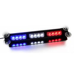 LED de couleur bleu Multi-Voltage Deck feux Dash bouclier du vent