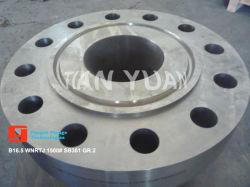 ASME Sb381 Gr2 /ASTM B381 مجموعة 2 شفة من التيتانيوم