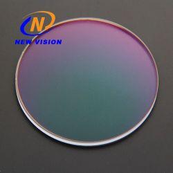 Hoogwaardige 1.56 Super hydrofobe HMC+EMI Magenta lens