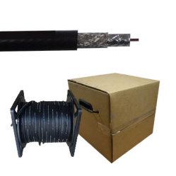 75 Ohm Single RG6 Single Coaxial Cable für Satellitenfernsehen