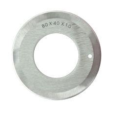 acier au carbone circulaires industriels couteau de la machine pour l'industrie du papier tissu/cuir/