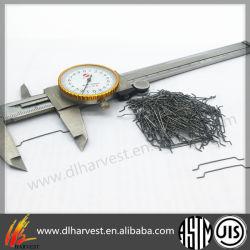 Résistant à la chaleur extraite de fonte Satanless fibre d'acier