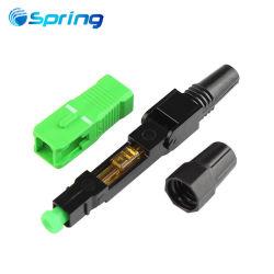 Faser-schneller Stecker-aus optischen Fasern schneller Optikstecker Sc-APC