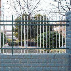 Qualitäts-Stahl galvanisiertes Assambled geschweißtes Garten-Fechten